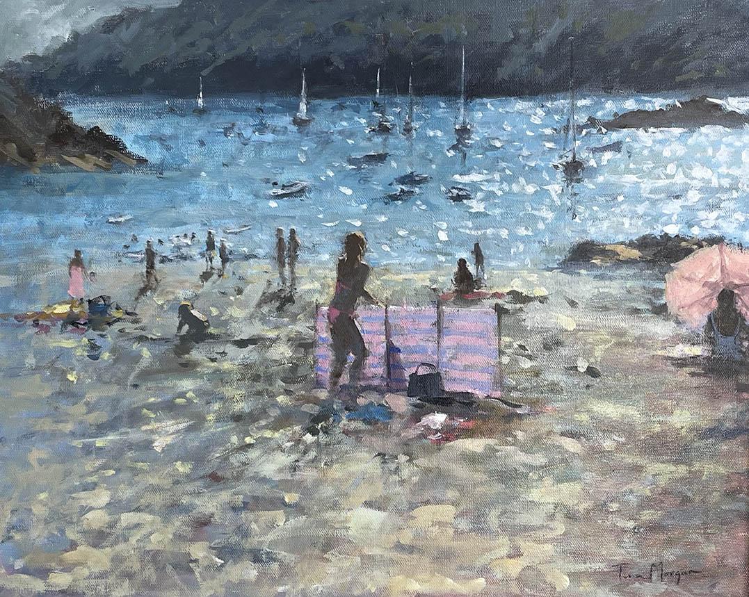 Tina Morgan SWA Watching the Boats, Salcombe